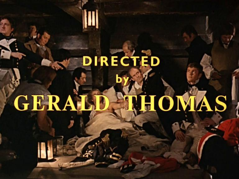 Main title from Carry on Jack (1964) (12).  Directed by Gerald Thomas