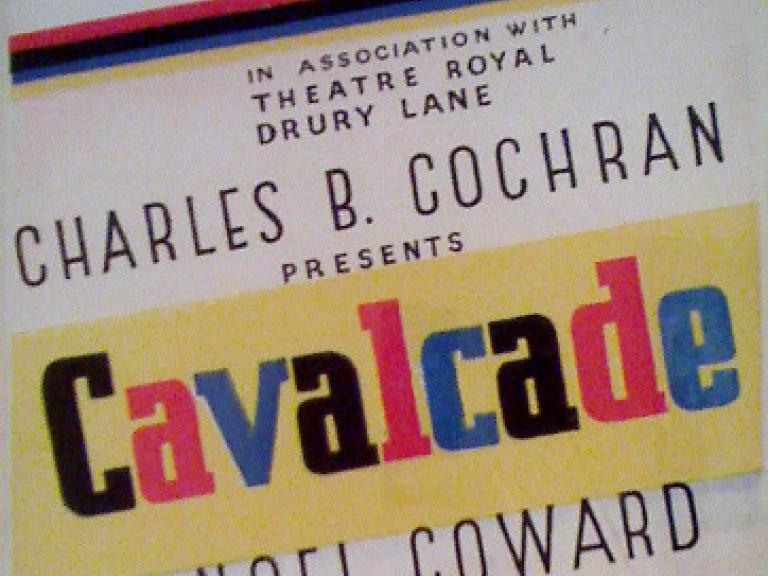 Poster for Cavalcade (1931) (1)