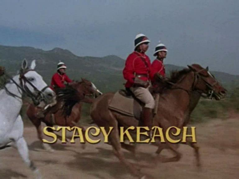 Main title from Conduct Unbecoming (1975) (4).  Stacy Keach