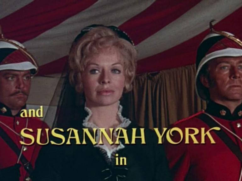 Main title from Conduct Unbecoming (1975) (6).  And Susannah York in