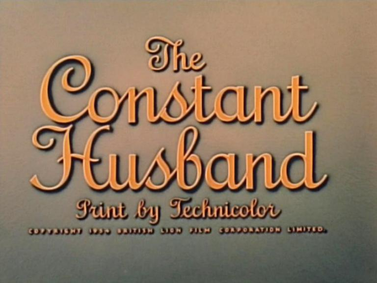 Main title from The Constant Husband (1955)