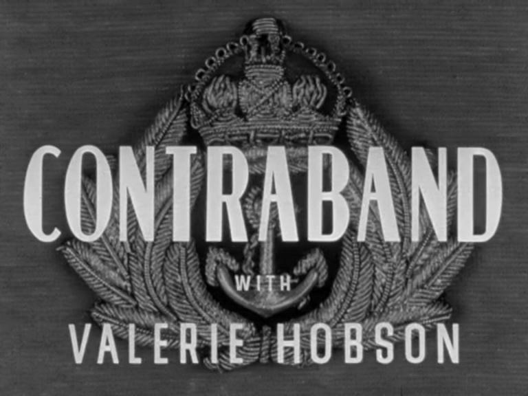 Main title from Contraband (1940) (3). With Valerie Hobson