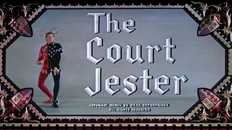 Opening credits from The Court Jester (1955) (5)