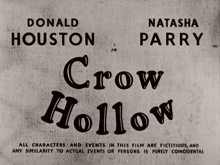Main title from Crow Hollow (1952) (2)