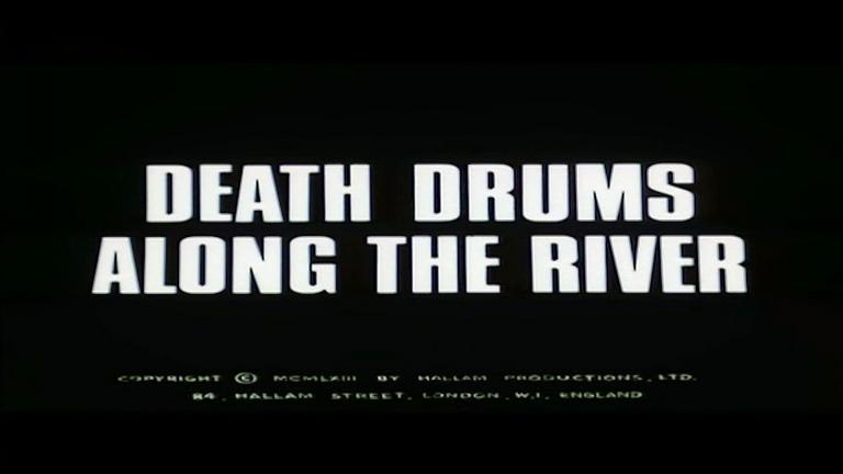 Main title from Death Drums Along the River (1963) (2)
