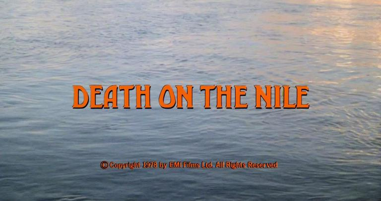 Opening credits from Death on the Nile (1978) (16)