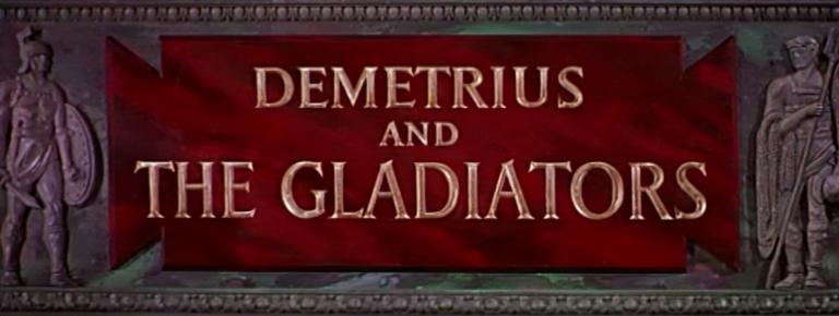 Main title from Demetrius and the Gladiators (1954) (3)