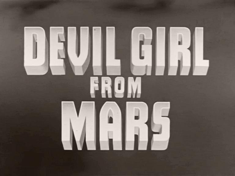 Main title from Devil Girl from Mars (1954) (1)