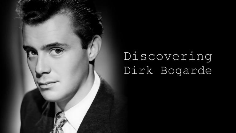 Main title from the 2017 'Discovering: Dirk Bogarde' episode of Discovering Film (1)
