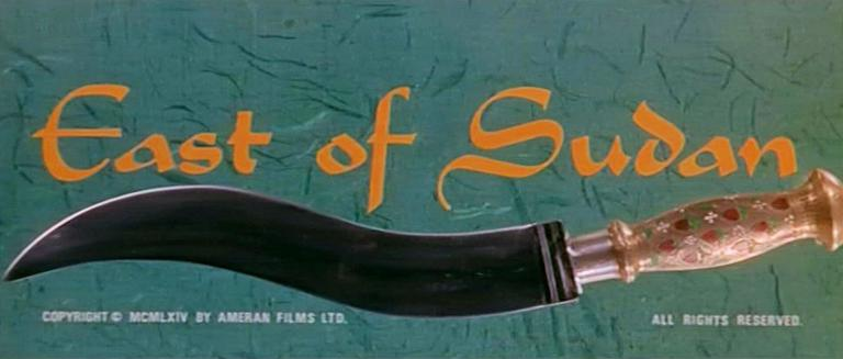 Main title from East of Sudan (1964) (3)