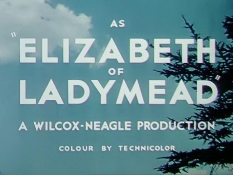 Main title from Elizabeth of Ladymead (1948) [as The Affairs of a Rogue] (4)