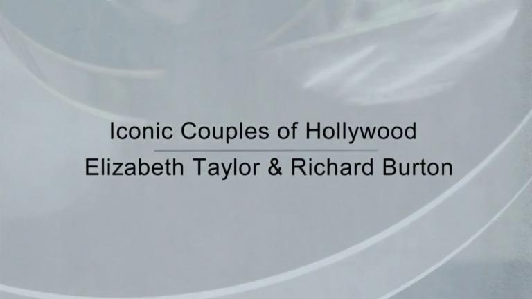 Main title from the 2000 'Elizabeth Taylor and Richard Burton' episode of Hollywood Couples (2) [Iconic Couples of Hollywood]