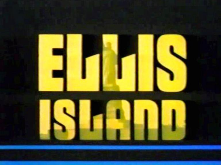 Main title from Ellis Island (1984)