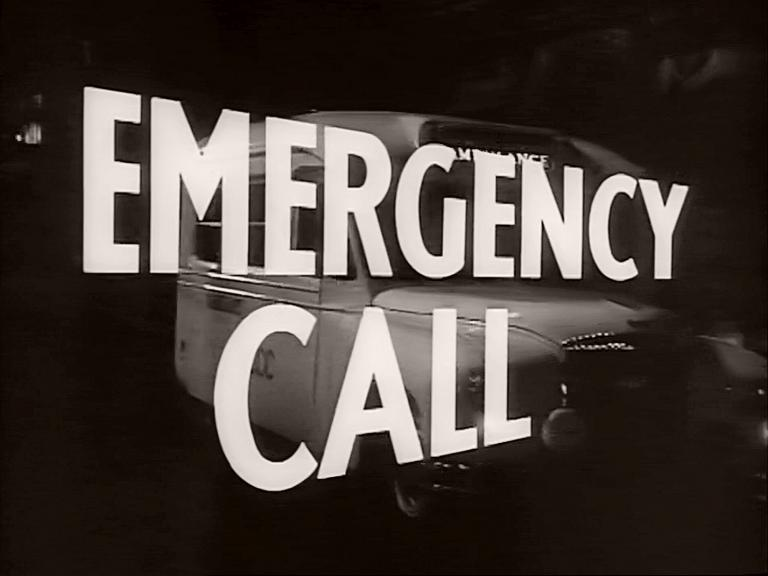 Main title from Emergency Call (1952) (3)