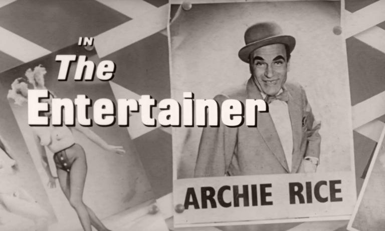 Main title from The Entertainer (1960) (3)