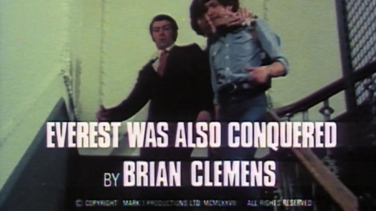 Opening credits from the 1978 'Everest Was Also Conquered' episode of The Professionals (1977-1983) (1). By Brian Clemens