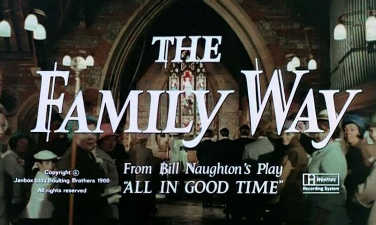 Main title from The Family Way (1966) (10). From Bill Naughton's play, 'All in Good Time'