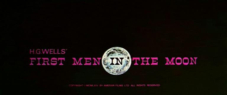 Main title from First Men in the Moon (1964) (3)
