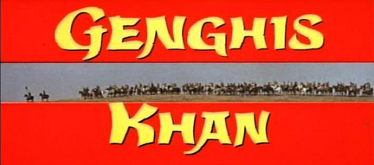 Main title from Genghis Khan (1965) (4)