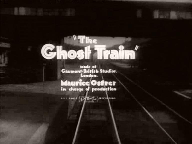 Main title from The Ghost Train (1941) (3). Made at Gaumont-British Studios London. Maurice Ostrer in charge of production