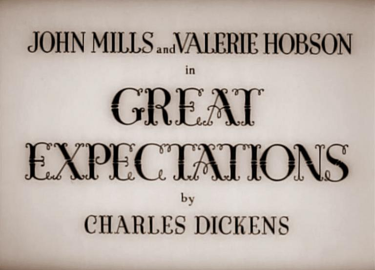 Main title from Great Expectations (1946)