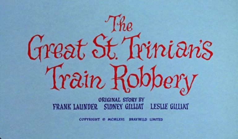 Opening credits from The Great St Trinian's Train Robbery (1966) (3)