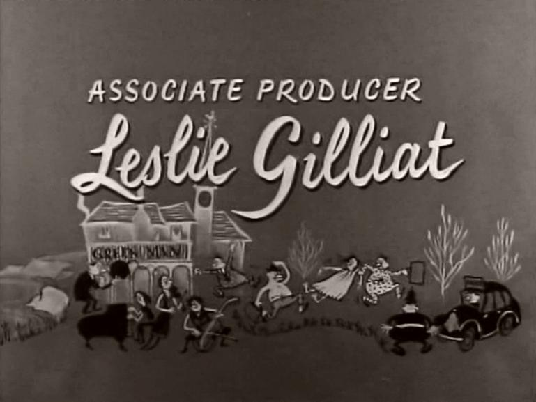 Main title from The Green Man (1956) (11).  Associate producer Leslie Gilliat