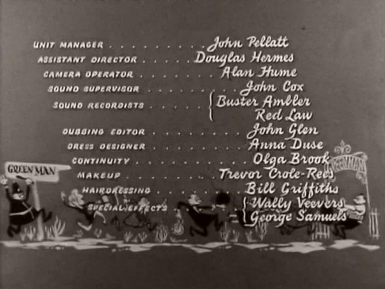 Main title from The Green Man (1956) (7)