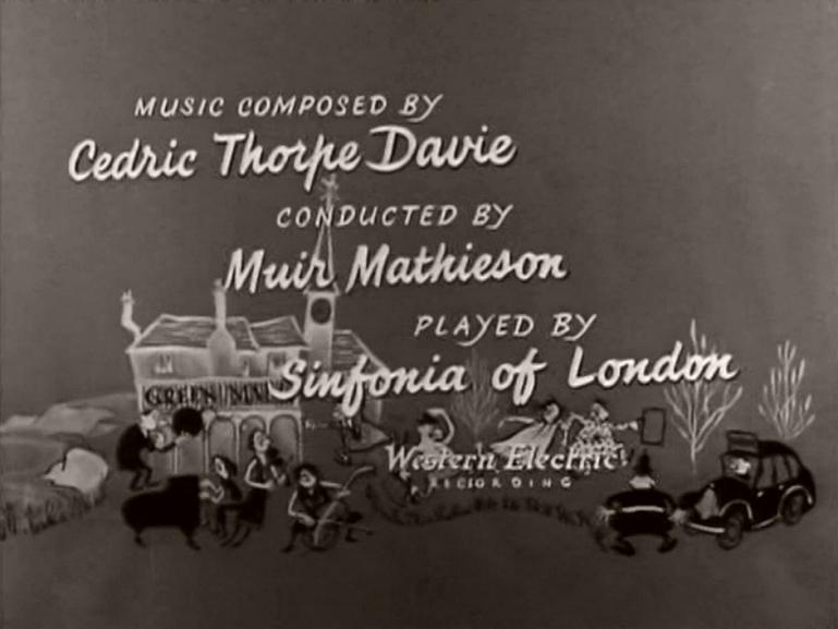 Main title from The Green Man (1956) (9)