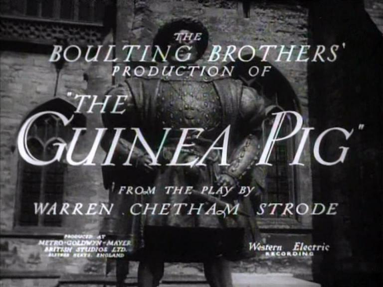 Main title from The Guinea Pig (1948)