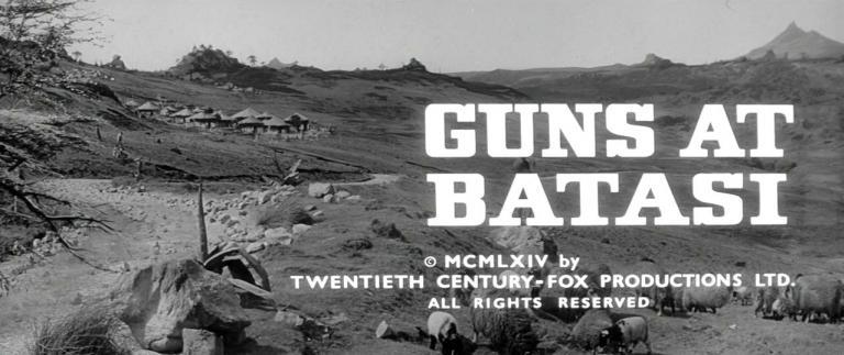Main title from Guns at Batasi (1964)