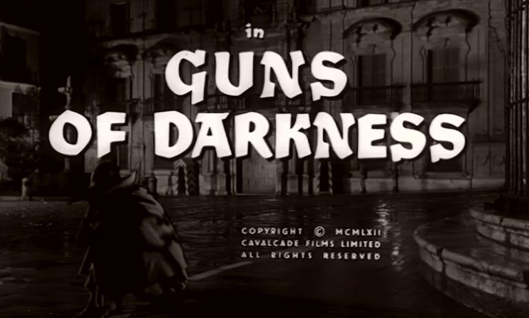 Main title from Guns of Darkness (1962) (5)