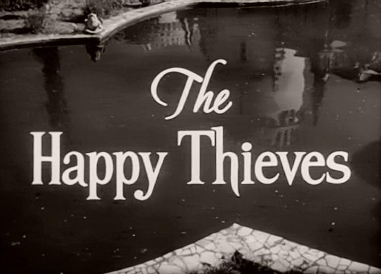 Main title from The Happy Thieves (1961) (3)