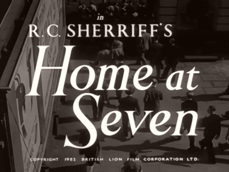 Main title from Home at Seven (1952) (3)