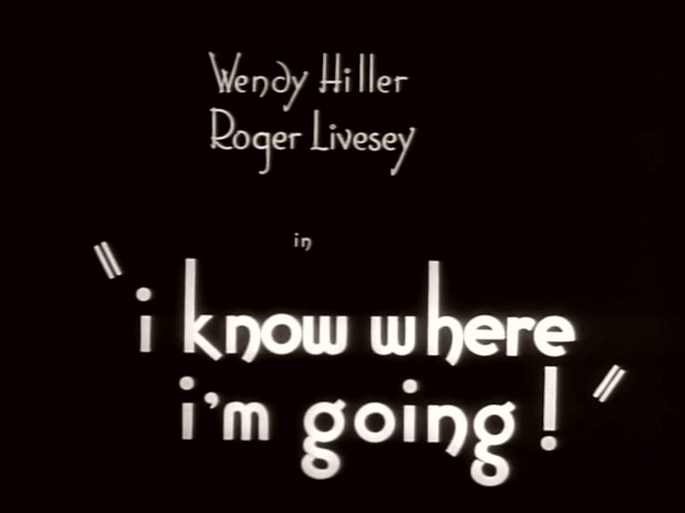 Main title from I Know Where I'm Going! (1945)