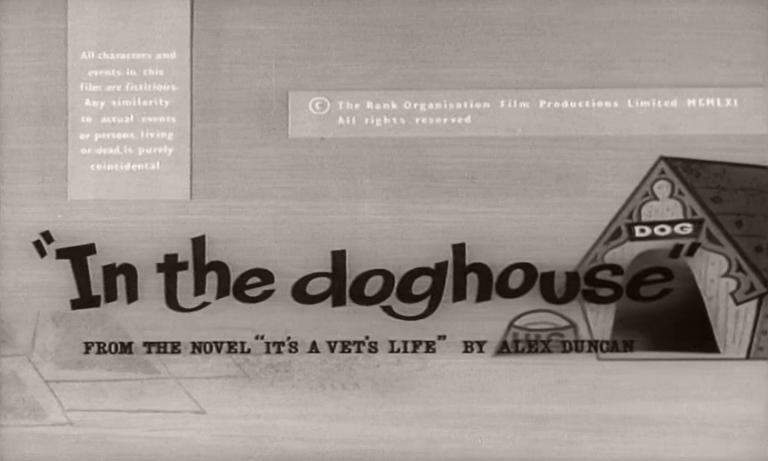 Main title from In the Doghouse (1961) (4)