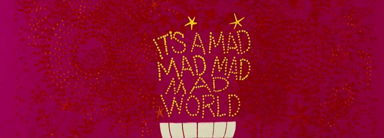 Main title from It's a Mad Mad Mad Mad World (1963) (5)