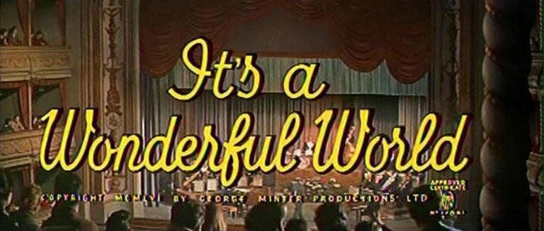Main title from It's a Wonderful World (1956) (3)