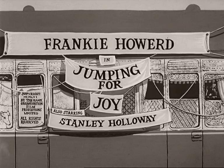 Main title from Jumping for Joy (1956) (3)