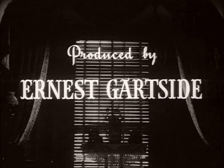 Main title from The Late Edwina Black (1951) (10)  Produced by Ernest Gartside