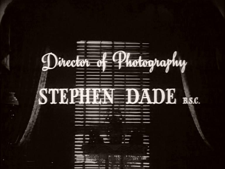 Main title from The Late Edwina Black (1951) (6)