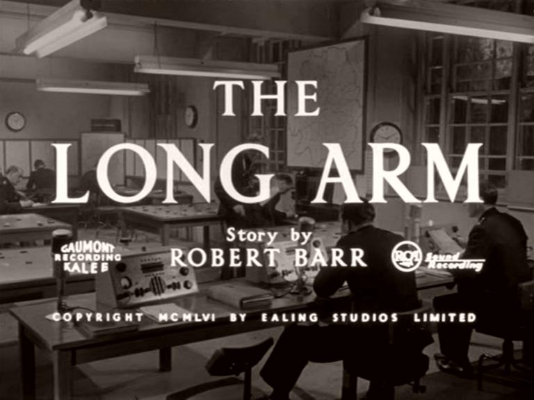 Main title from The Long Arm (1956) (5). Story by Robert Barr