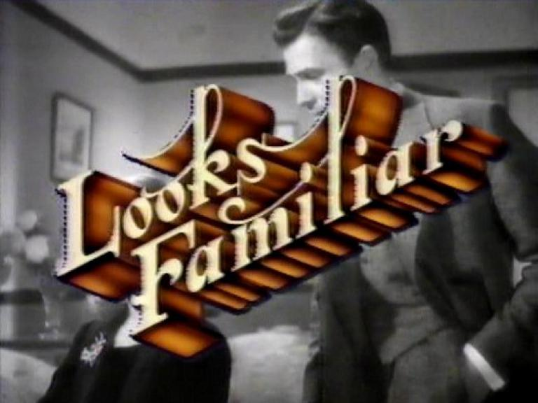 Main title from Looks Familiar, 1982