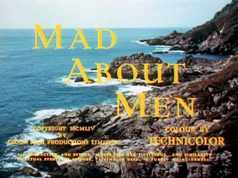 Main title from Mad About Men (1954) (4)