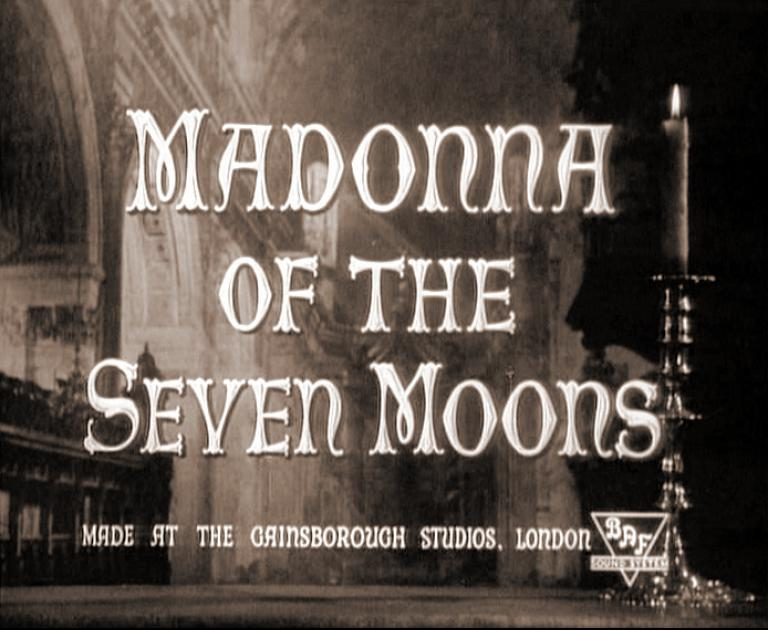 Main title from Madonna of the Seven Moons (1944)