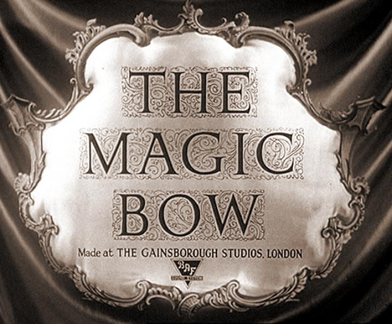 Main title from The Magic Bow (1946)