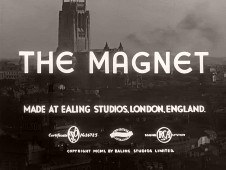 Main title from The Magnet (1950) (4)