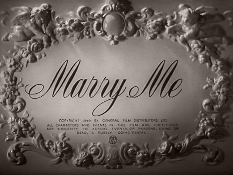 Opening credits from Marry Me (1949) (12)