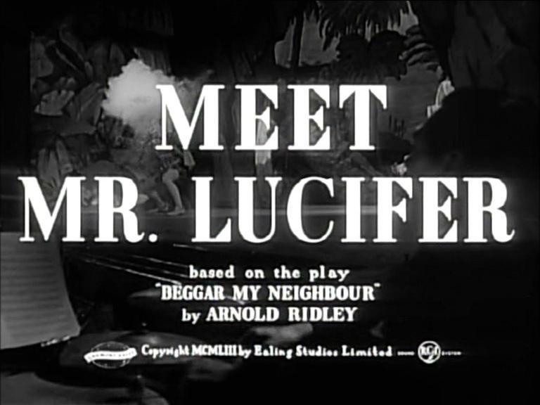 Main title from Meet Mr Lucifer (1953)