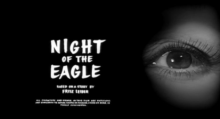 Main title from Night of the Eagle (1962) (5)